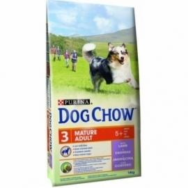 DOG CHOW ADULT MATURE koeratoit lambalihaga 14kg
