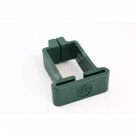 Kergpaneeli plastist kinnitusvõru 40x60-postile (roheline)