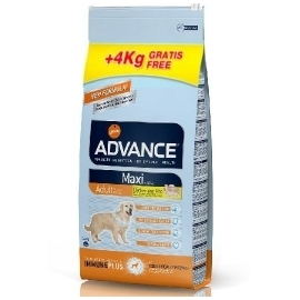 ADVANCE koeratoit Maxi Adult Chicken & Rise 14kg + 4kg