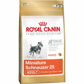 ROYAL CANIN MINIATURE SCHNAUZER 25 koeratoit 3 KG
