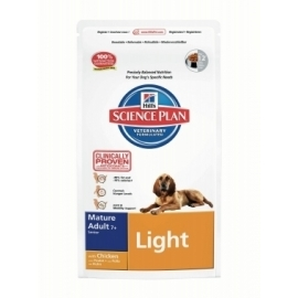 Hill´s SP Canine Mature (7+) Light Chicken koeratoit 12KG
