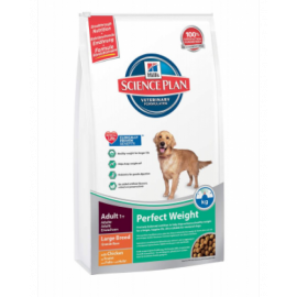 Hill´s Science Plan Canine Adult Perfect Weight Large Breed koeratoit 12kg