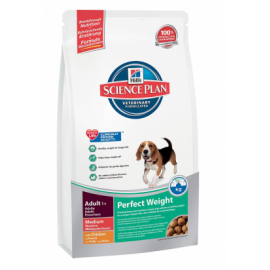 Hill´s Science Pla Canine Adult PERFECT WEIGHT Medium koeratoit 10kg