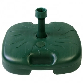 Plastikust päiksevarjualus roheline