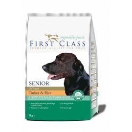 First Class Hypoallergenic Senior Turkey & Rice 12kg