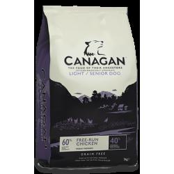 Canagan koeratoit light & senior 4kg