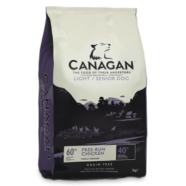 Canagan koeratoit light & senior 6kg