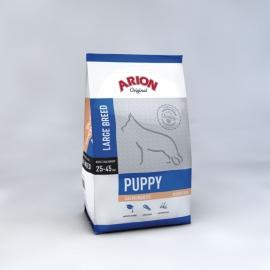 ARION koeratoit ORIGINAL PUPPY LARGE BREED SALMON & RICE 3kg