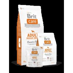 Brit Care Adult Medium Breed Lamb & Rice koeratoit 12kg
