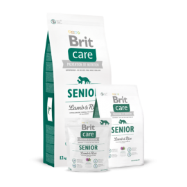 Brit Care Senior Lamb & Rice koeratoit 3kg