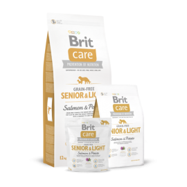 Brit Care Senior & Light Salmin & Potato koeratoit 3kg