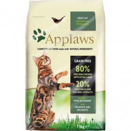 Applaws kassitoit Adult CHICKEN and LAMB 2kg