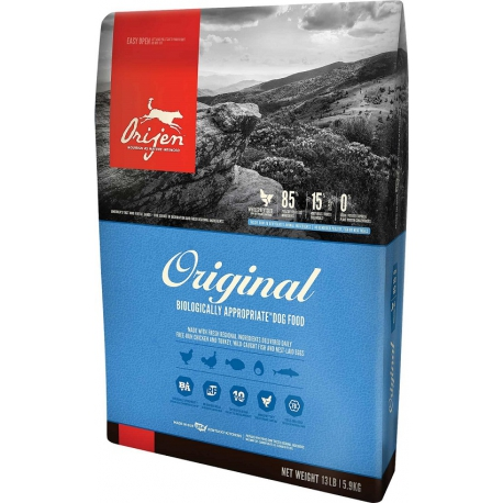 Orijen koeratoit Original 11,4kg teraviljavaba