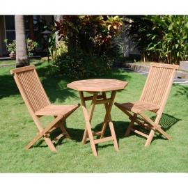 Aiamööblikomplekt ROSY laud ja 2 tooli