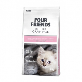 Four Friends kassitoit Grain Free Kitten Duck & Turkey 6kg