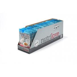 Nutrilove konserv lõhega steriliseeritud kassidele 28X85g