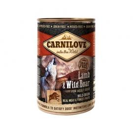 Carnilove koeratoit Lamb & Wild Boar 6x400g