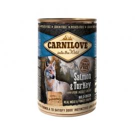 Carnilove koeratoit Wild Meat Salmon & Turkey 6x400g