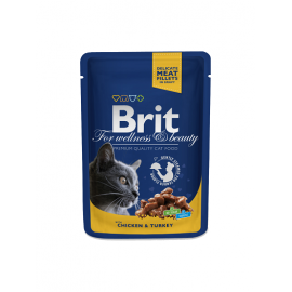 Brit Premium kassikonserv Chicken & Turkey 24x100g