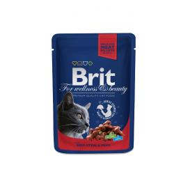 Brit Premium kassikonserv Beef Stew & Peas 24x100g