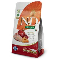 Farmina Pumpkin Quail & Pomegranate Feline Adult NEUTERED kassitoit 1,5kg