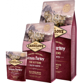 Carnilove Salmon & Turkey Kitten kassitoit 6kg