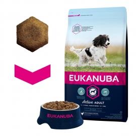 Eukanuba Medium Breeds koeratoit 12kg