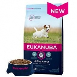 Eukanuba Small Breeds koeratoit 12kg