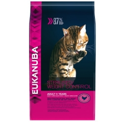 Eukanuba adult Sterilised / Weight Control kassitoit 3,0kg