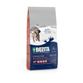 Bozita Grain Free Mother & Puppy XL Elk koeratoit 12kg