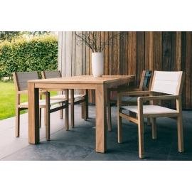 Aiamööbli komplekt FRÉJUS tiik, 6 tooli + laud