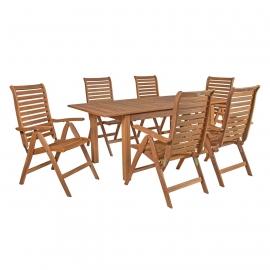 Aiamööbli komplekt EUREKA laud ja 6 tooli