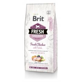 Brit FRESH koeratoit Chicken & Potato for Puppies 12kg