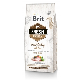 Brit FRESH koeratoit Turkey & Pea for Fit & Slim 2,5kg