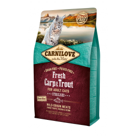 Carnilove FRESH Carp & Trout for Adult Cats - Sterilised 2kg