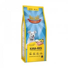 Hau Hau kana-riisi koeratoit täiskasvanud koertele 15kg