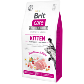 Brit Care Cat Grain-Free Kitten Healthy Growth kassitoit 7kg