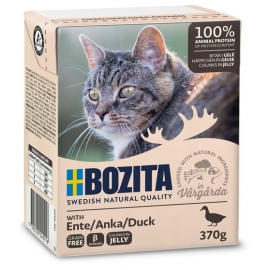 Bozita kassikonserv Duck in Jelly 16x370g