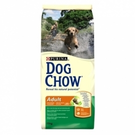 DOG CHOW ADULT Complete koeratoit kanaga 14kg