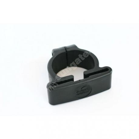 Kergpaneeli plastist kinnitusvõru Ø 50 mm SG-postile, must, 5tk