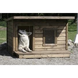 Soojustatud terrassiga koerakuut LEXA