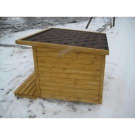 Suur soojustatud terrassiga koerakuut BOSS