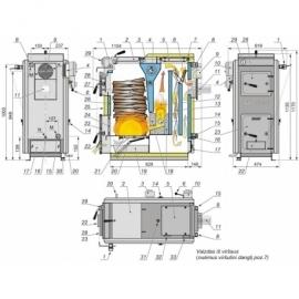 Keskküttekatel Kalvis K-2-16