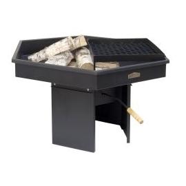 Lõkkease + grillrest Stoveman