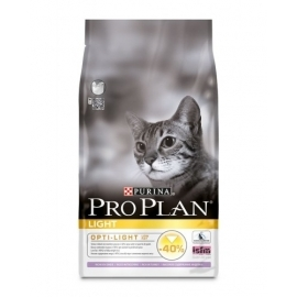 PRO PLAN Light kalkuniga kassitoit 10kg