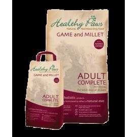 Healthy Paws koeratoit Ulukiliha & Hirsiga 15kg