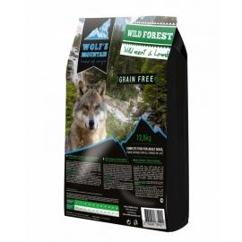 Wolf's Mountain koeratoit WILD FOREST teraviljavaba - uluki- & lambalihaga 12,5 kg