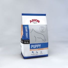 ARION koeratoit ORIGINAL PUPPY LARGE BREED SALMON & RICE 3kg