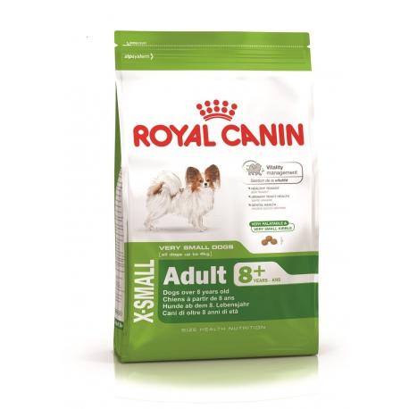 Royal Canin X-Small Adult +8 koeratoit 1,5kg
