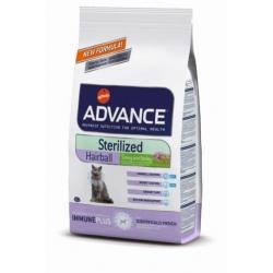 Advance kassitoit Sterilized Hairball 10kg